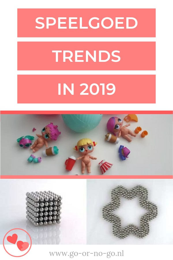 Speelgoed trends in 2019 hypes