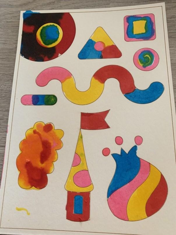 colourmazing tekening review boti kleuren met olie