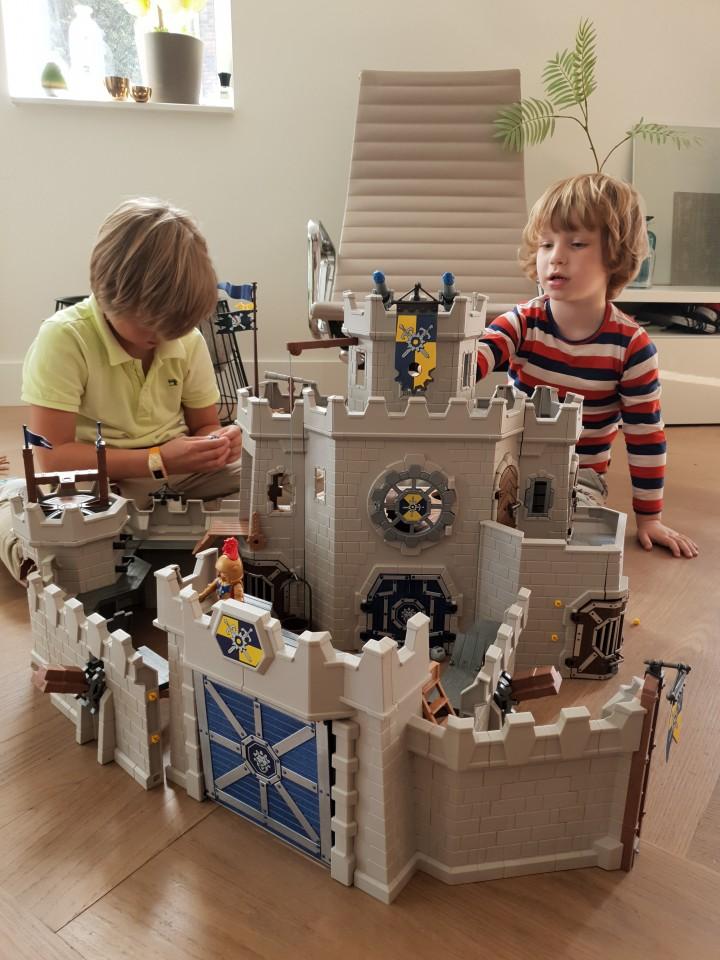 Review Grote Burcht van de Novelmore ridders playmobil