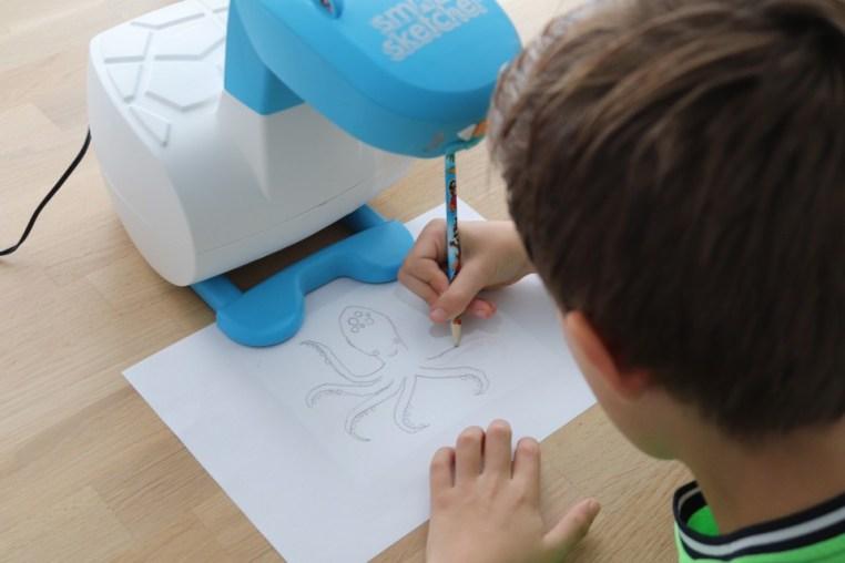 { Review } | Smart Sketcher Projector cadeaus voor een 8-jarige