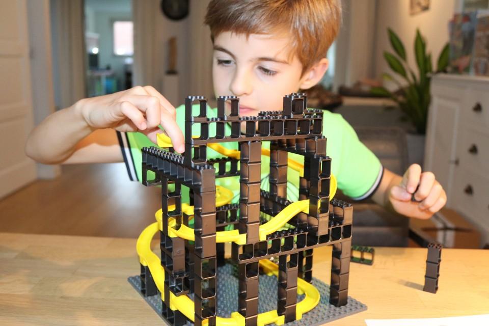 review Hubelino Pi - De LEGO knikkerbaan