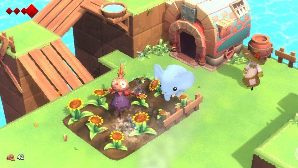 Review Yono and the Celestial Elephants Nintendo Switch