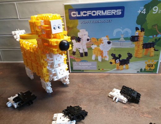 { Review } | CLICFORMERS Puppy Friends Set
