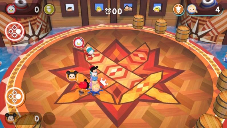tsum tsum spinner minigame