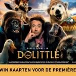 WIN: Ga naar de première van Dolittle!