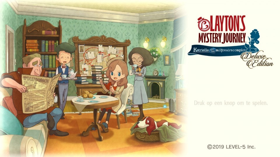 ervaringen Layton's Mystery Journey voor Nintendo Switch