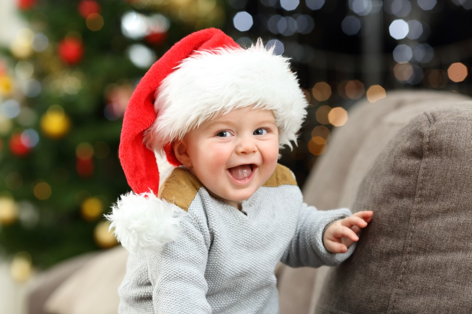 Kerst vieren met een baby tips