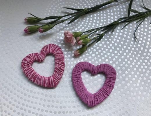 Valentijnsknutsel voor kinderen: een hartje van wol