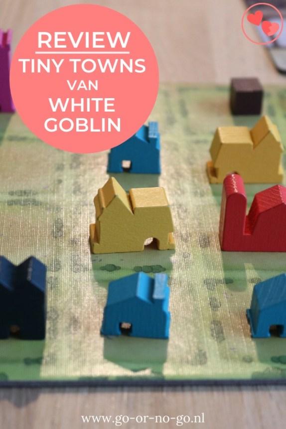 Tiny Towns is het nieuwste spel van White Goblin Games. Lees hier onze review en speluitleg van Tiny Towns. Lees hier waarom wij dit zo'n leuk spel vinden!