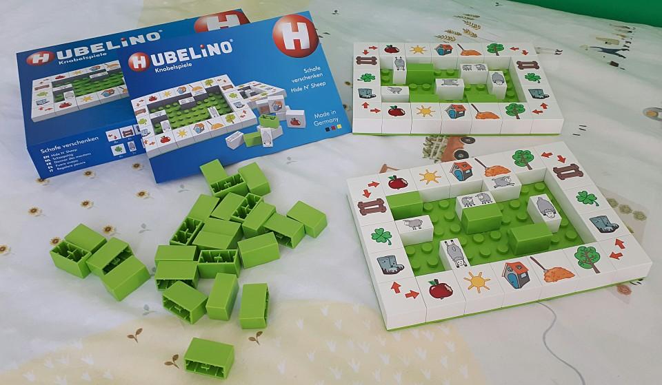 Hubelino educatieve spellen voor kleuters zeeslag