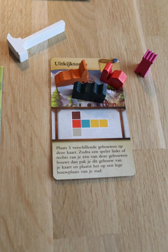 spel met huizen bouwen