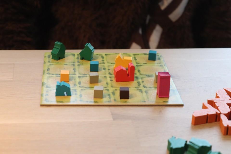 Spel white goblin huisjes bouwen