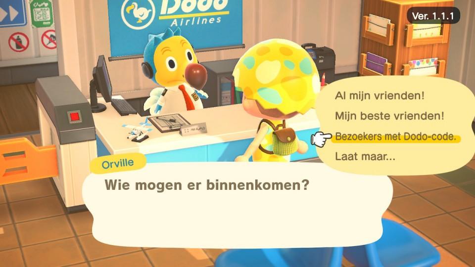 dodo code aanzetten