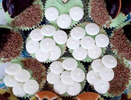 { Recept } | Cupcake-uil uit kinderbakboek Bakken als de Beste