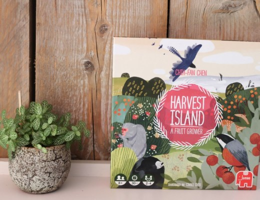 ( Review en Speluitleg } | Harvest Island van Jumbo