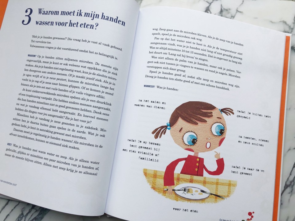 covid19 boek kinderboek corona Monsterlijke Microben