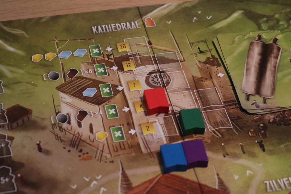 kathedraal spel bouwen