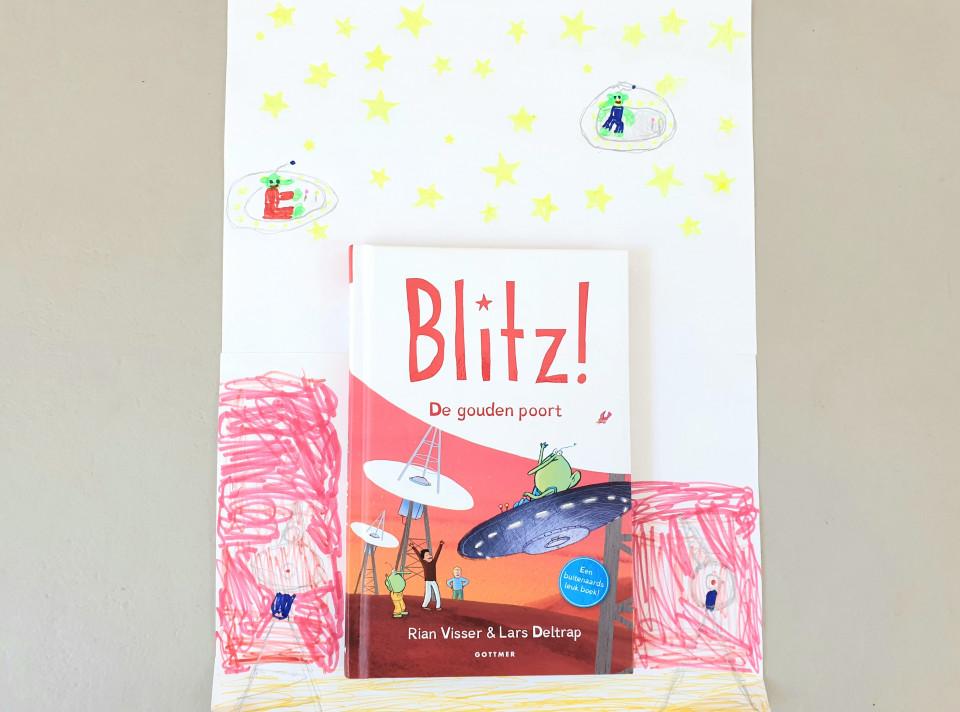 Een buitenaards leuk boek: Blitz en de gouden poort recensie