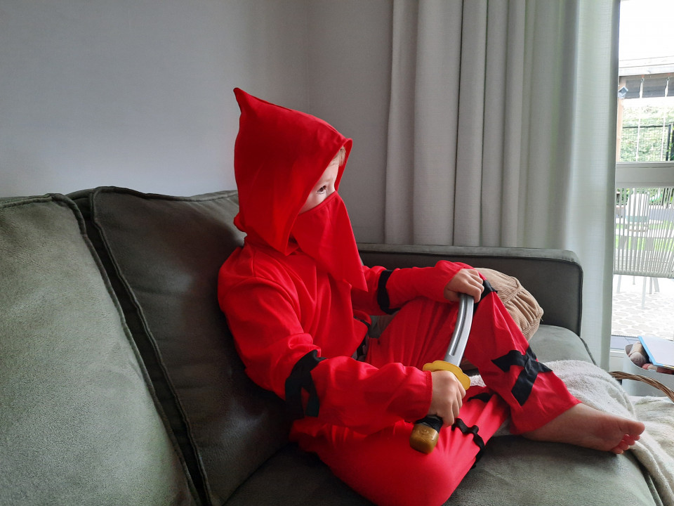 verkleedkleren ninja
