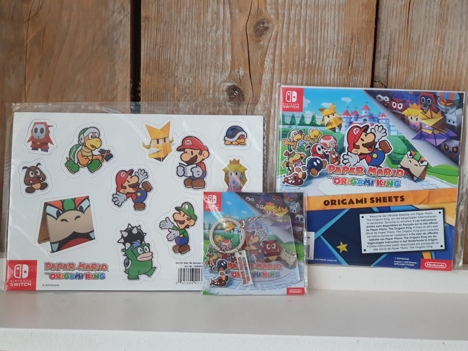{ Review } | Paper Mario: The Origami King - Nintendo Switch