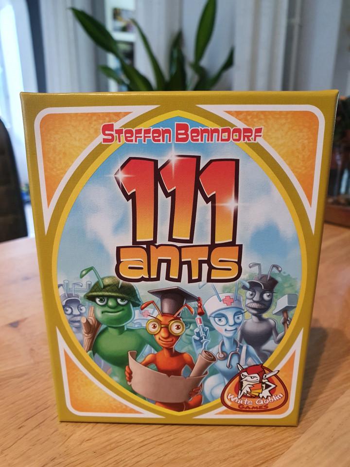 { Review }   Kaartspel 111 Ants van White Goblin