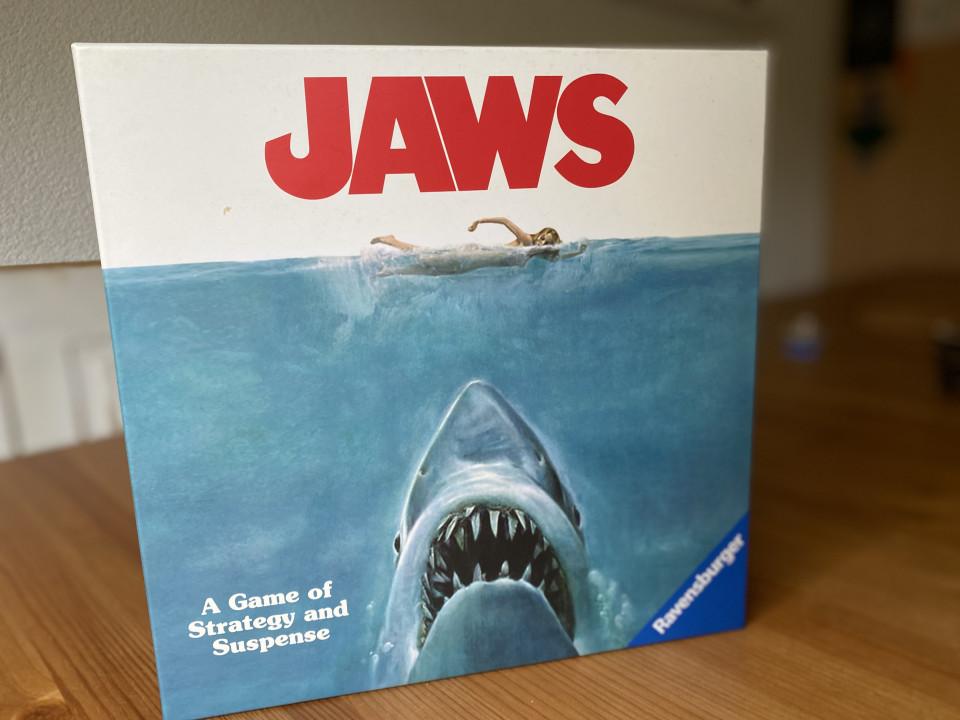 review Gezelschapsspel Jaws van Ravensburger
