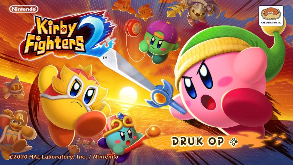review Kirby Fighters 2 voor de Nintendo Switch