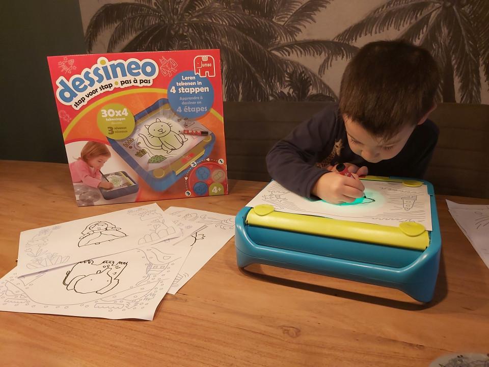 Leren tekenen met Dessineo van Jumbo