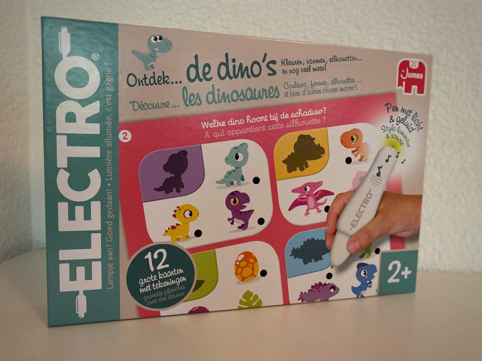 Electro Wonderpen - Ontdek de Dino's
