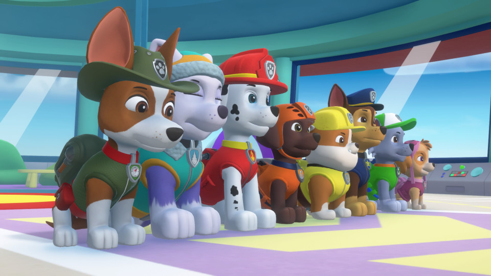 { Review } | Paw Patrol: Mighty Pups Save Adventure Bay