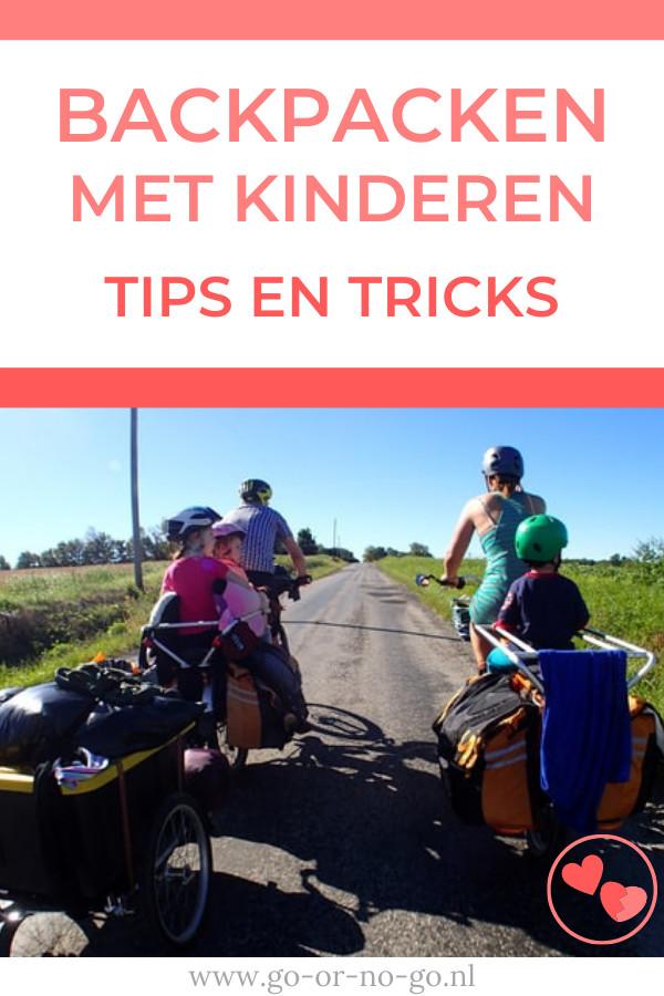 Backpacken met kinderen: In deze blog geven we je tips en tricks die je kunt gebruiken voor de backpackvakantie met je kinderen.