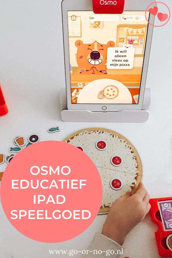 Met Osmo Pizza Co kun je online en offline spelen. In deze review lees je wat je leert en wat wij van deze Osmo uitbreidingsset vonden. #osmo #ipad