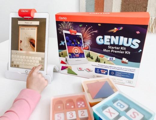 Op zoek naar leuke uitdagende games voor je kids? Of het nu gaat om Tangram, natekenen of meer: het kan allemaal met de Osmo Genius Kit.