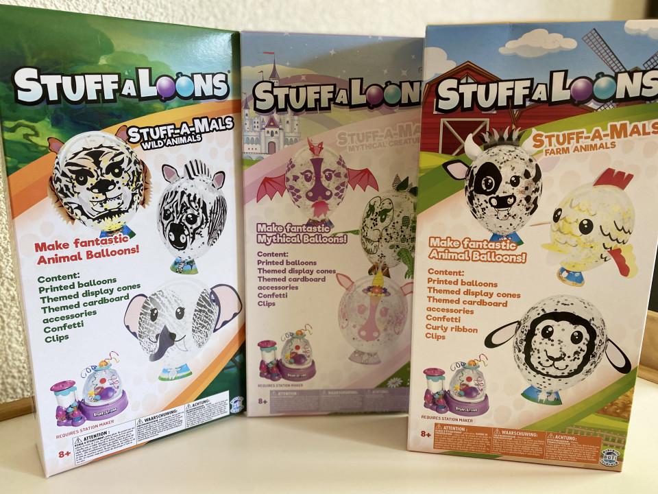 { REVIEW } | STUFF-A-LOONS UITBREIDING: STUFF-A-MALS