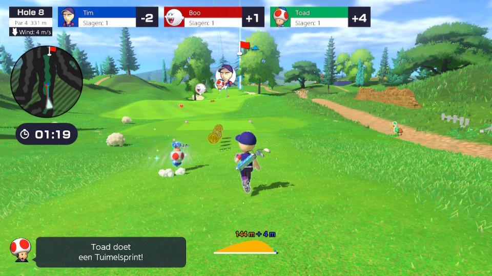 { GAME REVIEW } | MARIO GOLF: SUPER RUSH. In deze review lees je wat wij vinden van dit spel en of het geschikt is voor kinderen.
