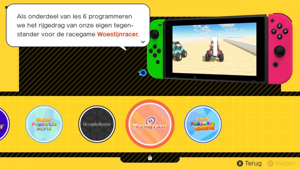 Voor de iets oudere gamer (12 plus) kan Gamestudio voor de Nintendo Switch geweldig zijn, want je leert veel over programmeren van games