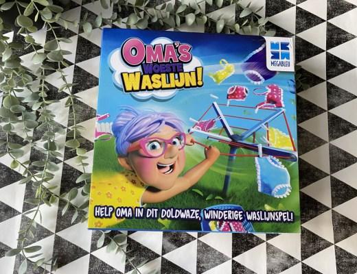Wat een feestje dat wij dit spel, Oma's Woeste Waslijn, mogen testen. Wij houden wel van gezelschapspelletjes, dus wij testten hem uit!