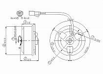 1999-2004 Honda Odyssey Condenser Cooling Fan Motor 2004