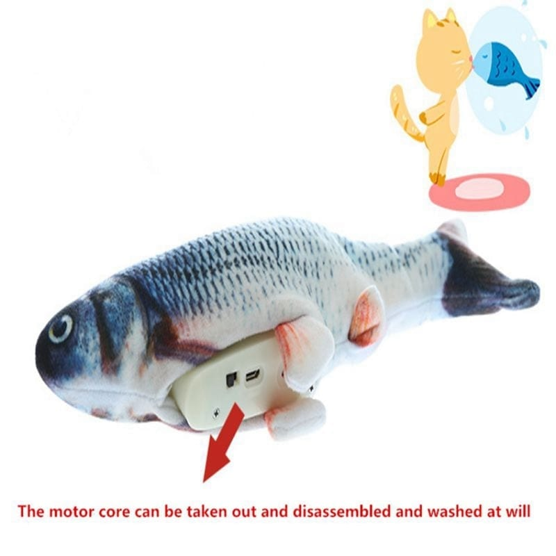 Interactive Dancing Fish Toy for dog and cat