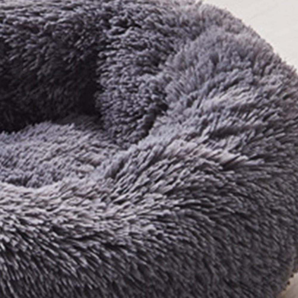 Orthopedic Comfortable Donut Cuddler Round Dog and Cat Bed Ultra Soft Washable