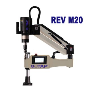 Tap easily from metric 3 to metric 20 and in soft materials such as aluminum up to M24