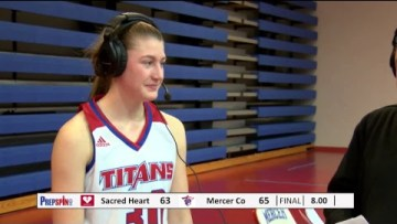 #3 Sacred Heart at #1 Mercer County – Girls HS Basketball