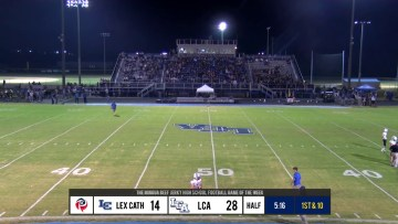 BGO at the Half with Andrew Carlson 9-21-19