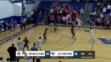 Boys HS Basketball – Bryan Station at LCA