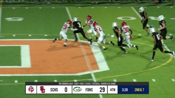 Camron Dunn #3 FDHS Highlights | 9-27-19