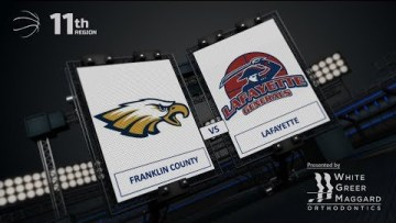 Girls 11th – Franklin County vs Lafayette