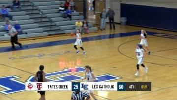 Girls HS Basketball – Tates Creek at Lexington Catholic