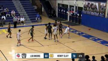 Henry Clay vs Louisville Moore – HS Basketball – HCHS Holiday Tournament