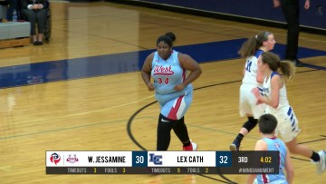 West Jessamine Girls BB Highlights vs Lex Cath