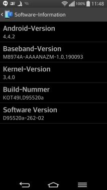 LG G Flex Android 4.4 KitKat Update